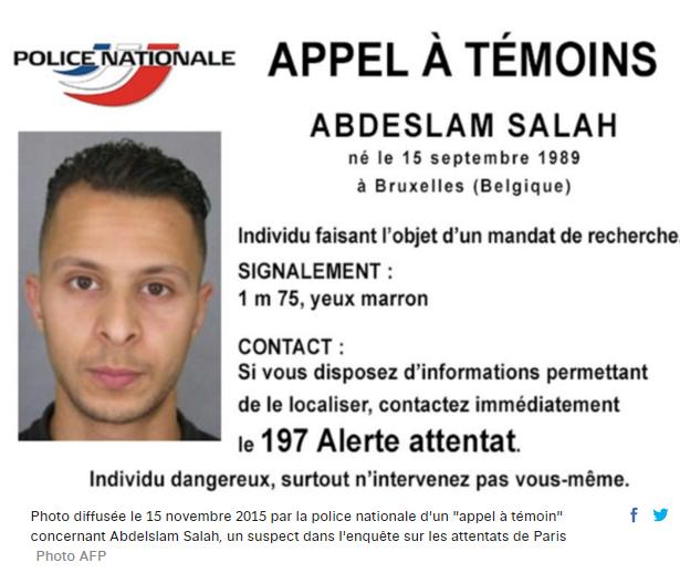 #ParisAttacks La police lance un appel à témoin et diffuse la photo d'un suspect https://t.co/DIqhmOKsgB #AFP