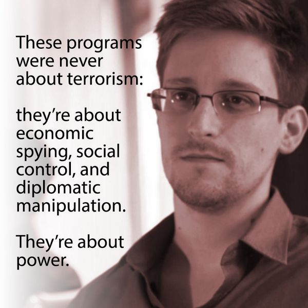 #ParisAttacks should be proof yet again to all of us that what @Snowden said of NSA spying is correct. https://t.co/vqUqzy6X4N