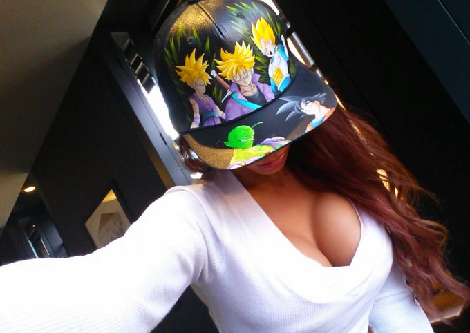 Probably my most favorite hat in this world, edges out my weed ones by a hair cause its hand painted
