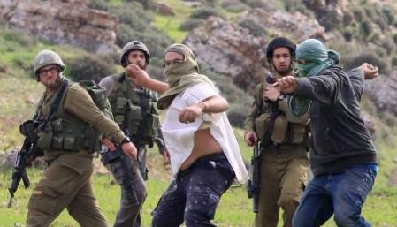 Soldiers, Paramilitary Settlers, Attack Family Picking Olives In Their Own Orchard https://t.co/mwnzCaVuzm https://t.co/ob8PYCh4VQ