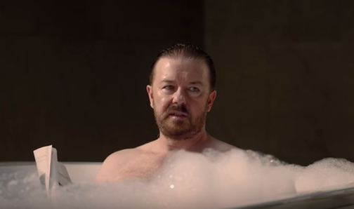 Ricky Gervais perfects the art of not giving a crap in new Optus spot https://t.co/Q5XMq3lsUp https://t.co/BdiYBRO3rp