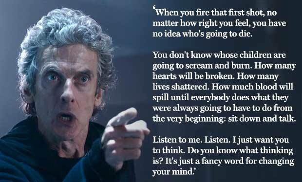 This is the quote I used the morning after this episode of @bbcdoctorwho during the remembrance day sermon. https://t.co/tn4iOOQtig