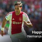 Vandaag is#Ajax-middenvelder@NemanjaGudelj 24 jaar geworden. Gefeliciteerd Nemanja! https://t.co/D6L3MVv0ad