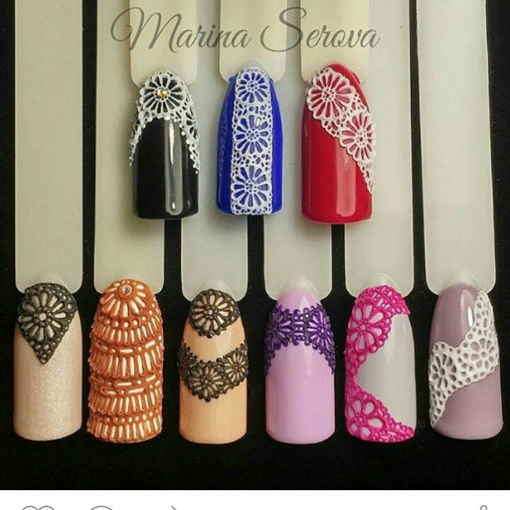 Дизайн ногтей 3 д гель