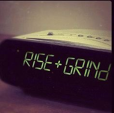 You know what time it is - TIME 2 GRIND! #noexcuses https://t.co/UFzhNJqVjO
