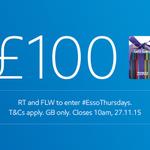Happy Thanksgiving! RT & FLW for a chance to win a £100 Tesco voucher #EssoThursdays https://t.co/EcQP7tKol8 https://t.co/Q8T8Hj20lE
