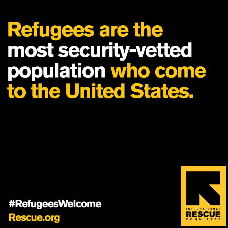 FACT. Entering the US as a refugee is by far the most difficult and complex of all routes in. #RefugeesWelcome https://t.co/8XmGdopWQq