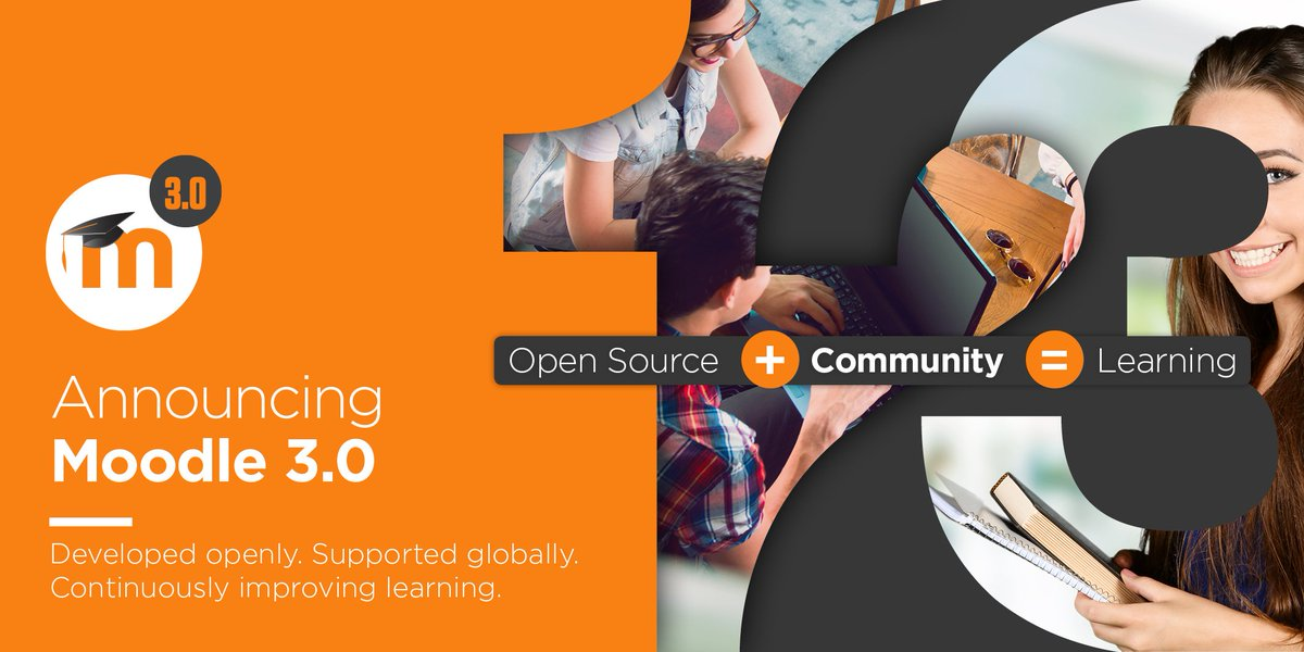 Moodle 3.0 has been released <3 <3 <3 #Moodle30 download at https://t.co/iis3B23Amg https://t.co/PJAYSrygoi