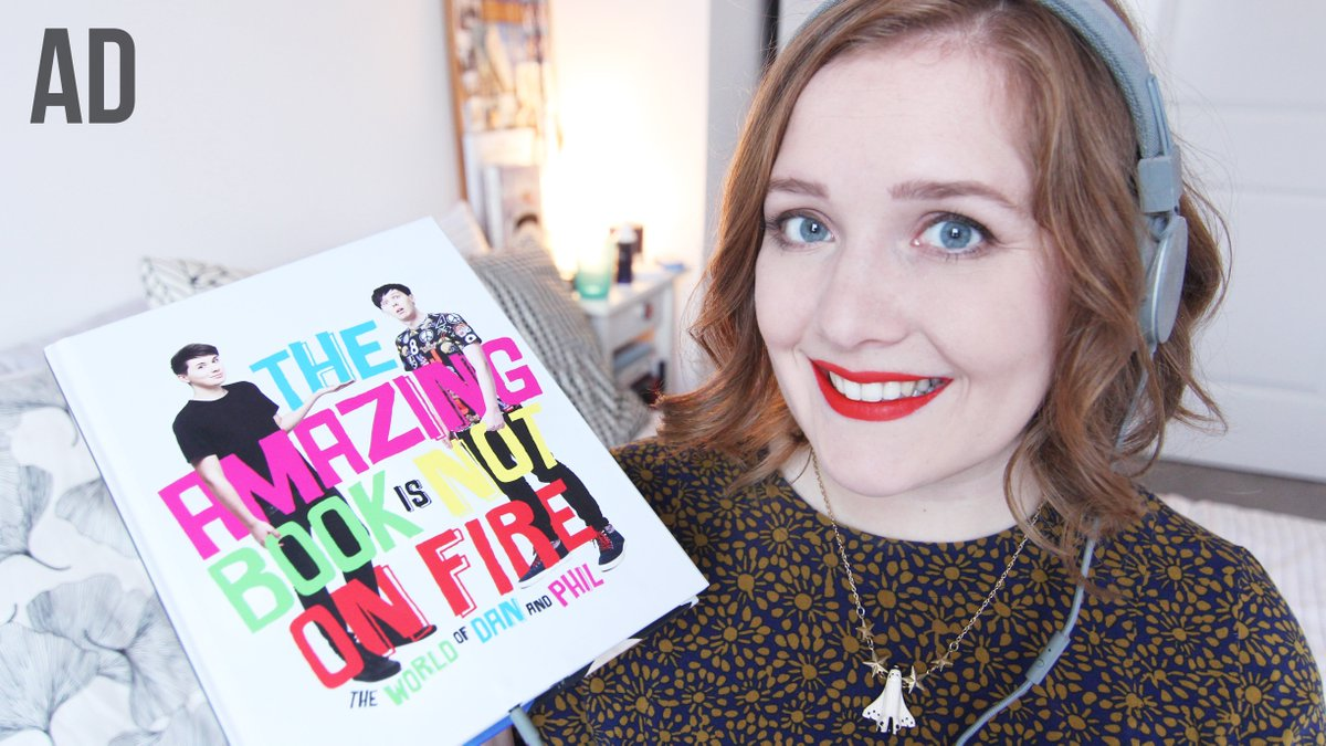 New video: The Book That Talks Back! feat. @danisnotonfire & @AmazingPhil's #TAABINOF https://t.co/WMALr2JhOC #AD https://t.co/Vbbmr3qdUJ