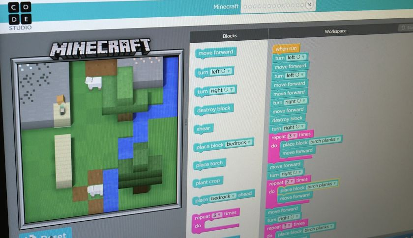 Here's how Microsoft will use Minecraft to teach kids how to code https://t.co/jI6uw0QQZn https://t.co/4GUCaWjksx