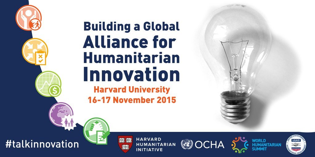 Today, HHI convenes a meeting at Harvard to start building a Global Alliance for Humanitarian Innovation #ReShapeAid https://t.co/M1IQrg2DOv