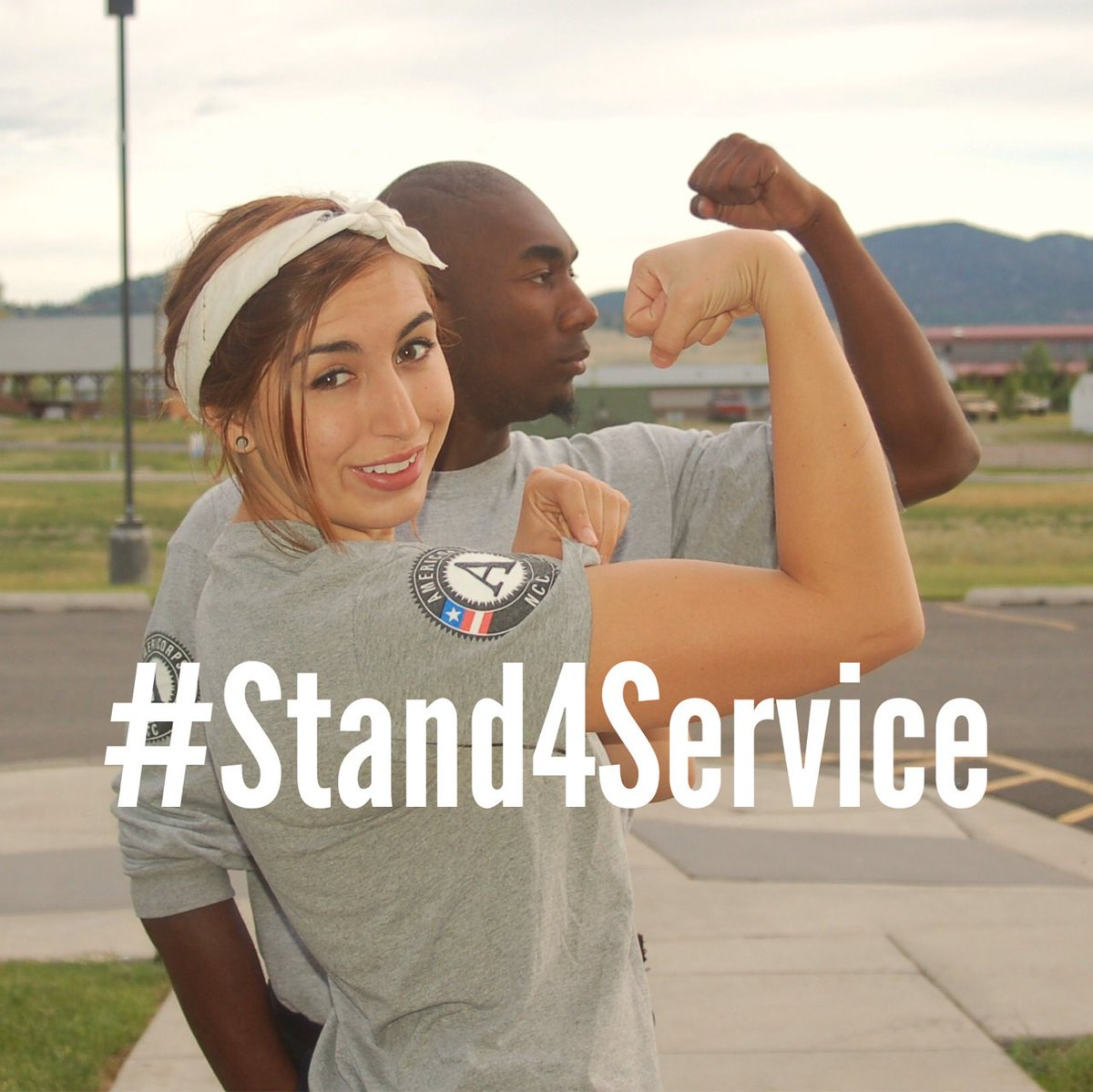 Alums, decisions about the future of @americorps are being made now. #Stand4Service today! https://t.co/oXgKBpSDqt https://t.co/PeJpB1hSFN