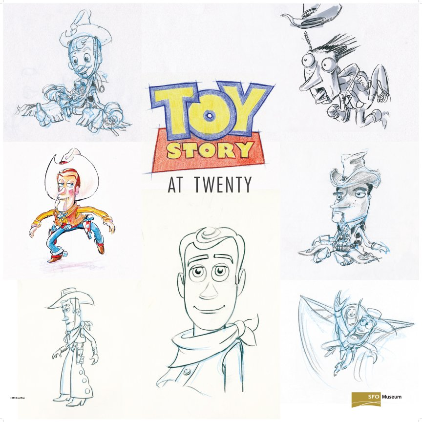 RT @SFOMuseum: Our new 'ToyStory at 20' exhibit celebrates the 1st feature-length Pixar film. ToyStory20 https://…