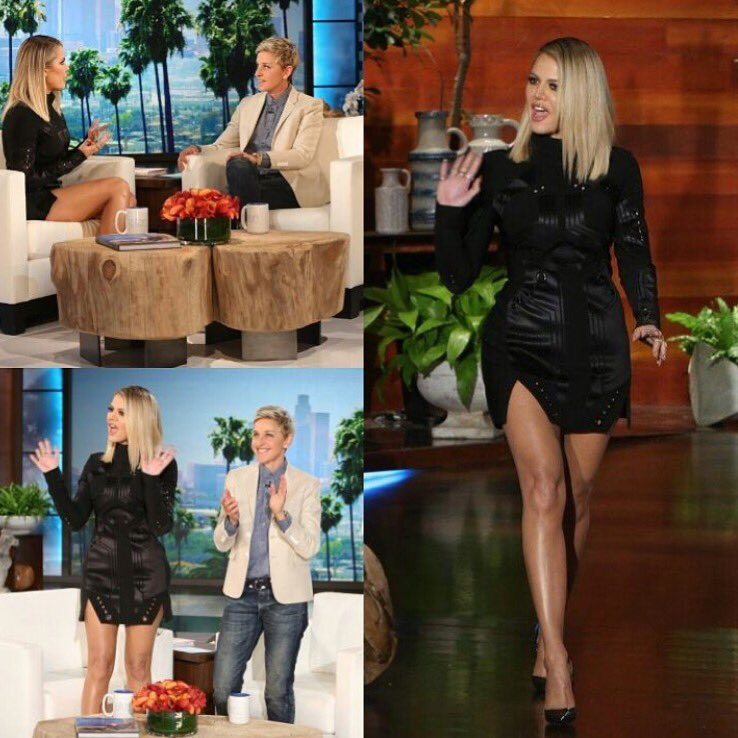 Thank you so much @theellenshow for having me on! today's show at 4pm!! She's the best! #StrongLooksBetterNaked https://t.co/rn2bgu50uK