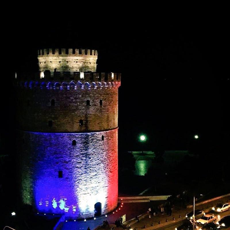 @nikosaliagas The White Tower.. https://t.co/F4Mh6cFRcU