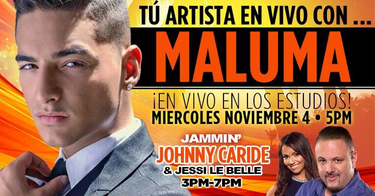 Maluma En Vivo https://t.co/ipaZjkgRNw https://t.co/MQL0Z2aObf