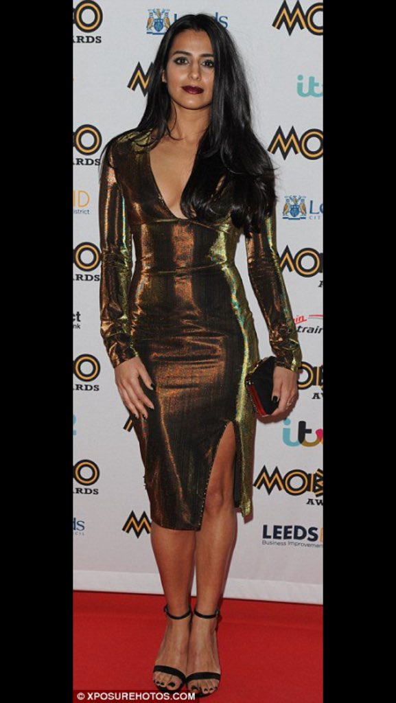 @SairKhan slaaaaaaying at @MOBOAwards this evening