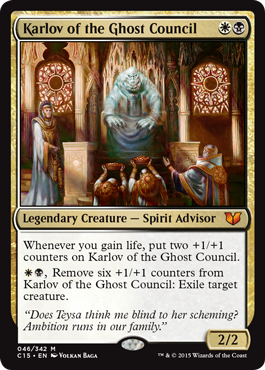 It's time to meet Karlov of the Ghost Council, our exclusive #MTGC15 preview! https://t.co/sH2xQ1Tftr https://t.co/KI5AQnLKqz