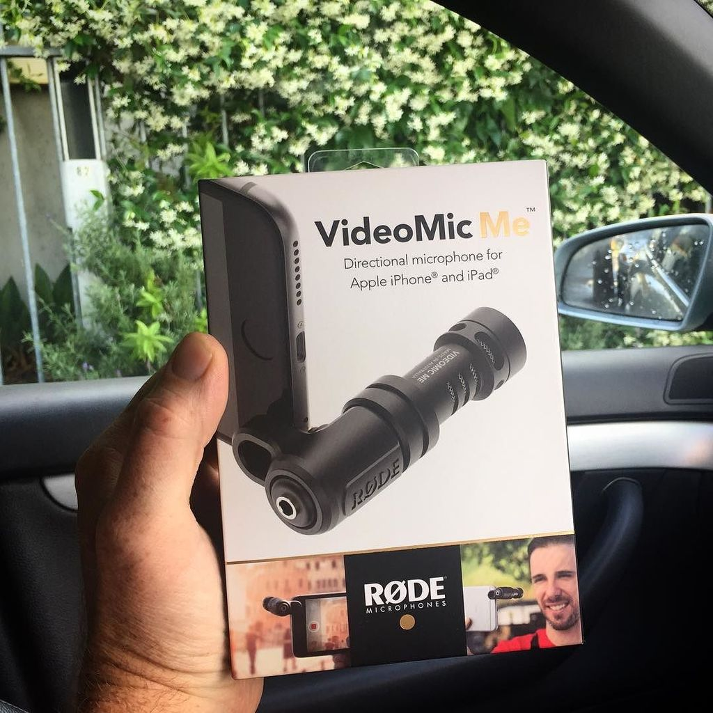 You make iPhone videos, that's why your sound is average? No more excuses... @rodemic has … https://t.co/LXh6Be3zJp https://t.co/8p90bPtYZE
