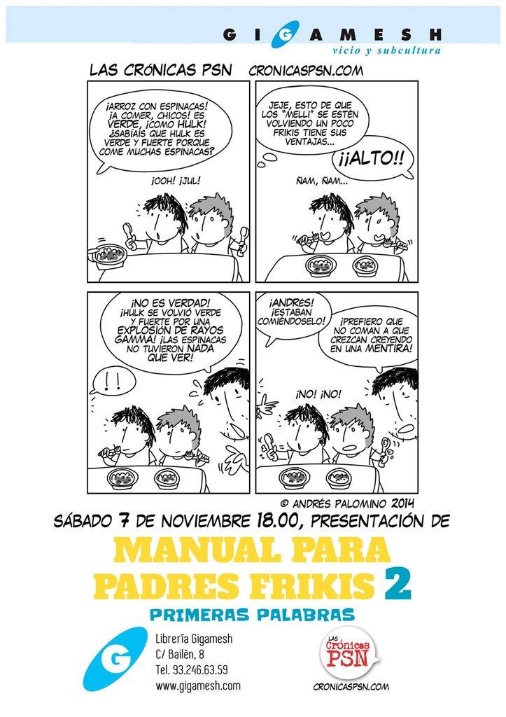 el sábado, papis y mamis frikis tenéis una cita en @GigameshTienda. traed a los padawans! https://t.co/GSSC4dKThf