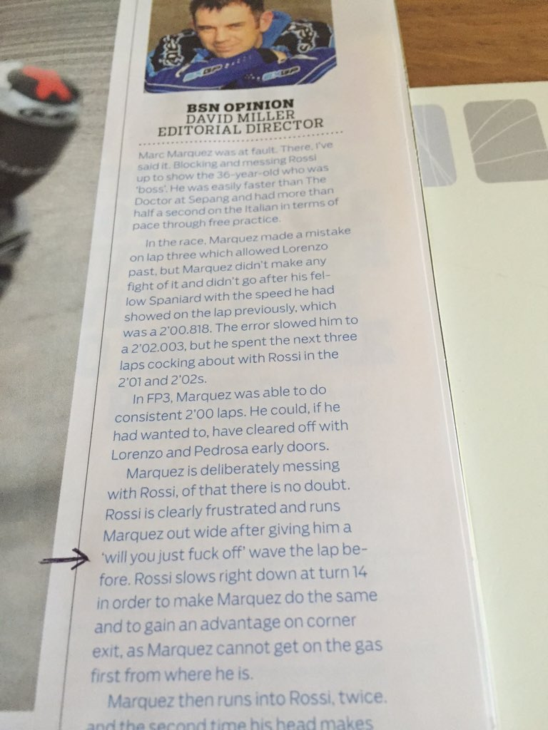 this is why I love reading @bikesportnews publication, said as it is!