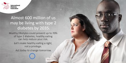 14/11 is #WorldDiabetesDay Approximately 387 million adults have #diabetes; by 2035 this will rise to 592 million https://t.co/NZg6zOMX8X