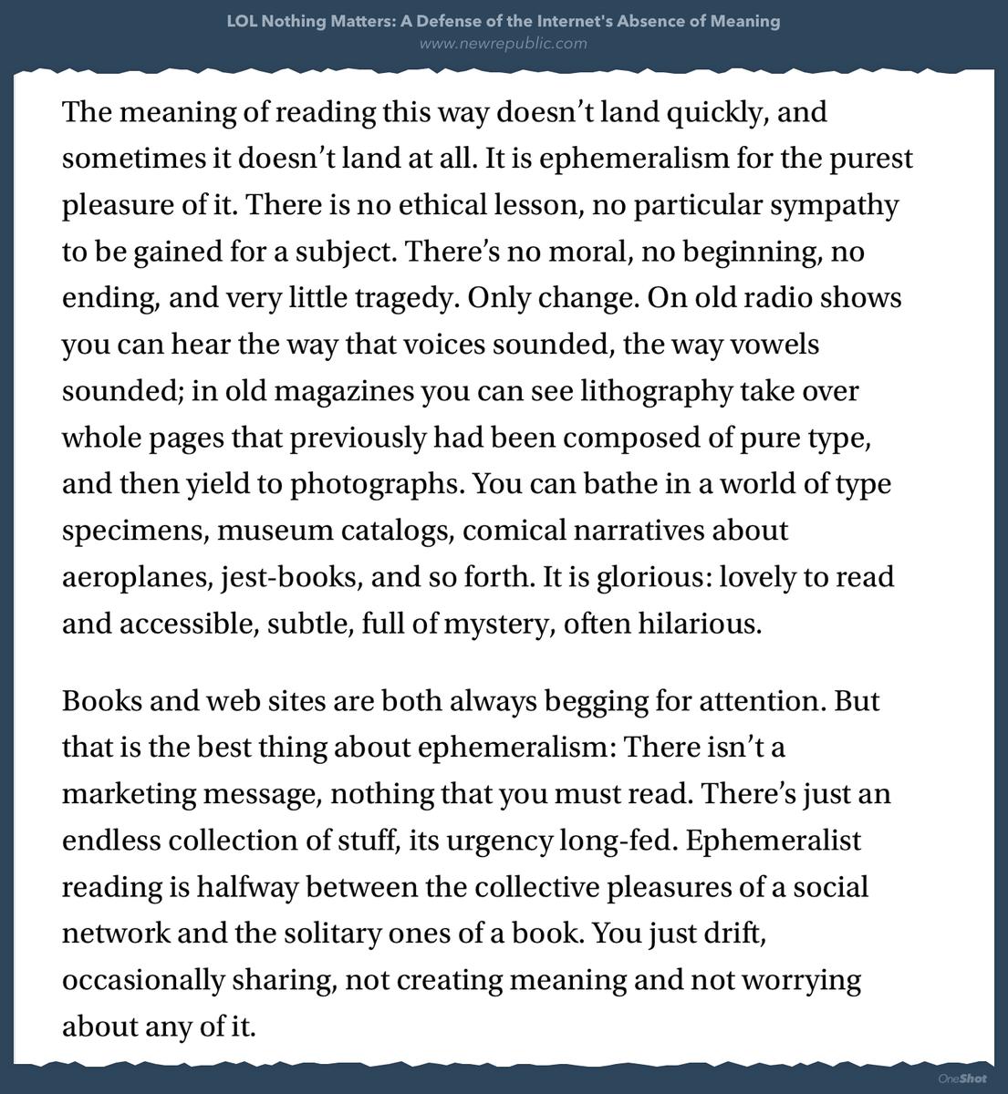"""""""I particularly like databases of dead media"""" +++ @ftrain on ephemeralist reading https://t.co/HeZmyGgKmF https://t.co/55jUNwvWmZ"""