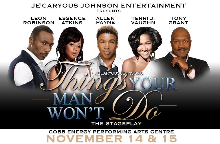 ATLANTA R U READY?! It's the play to see this season! Come join @justleon @terrijvaughn @tonygrantlife & Allen Payne https://t.co/aPMxqcE7qe