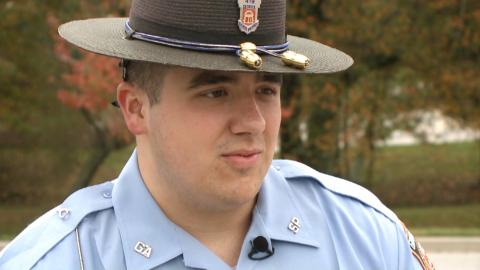 Trooper comforts orphaned siblings after parents killed in Halloween crash