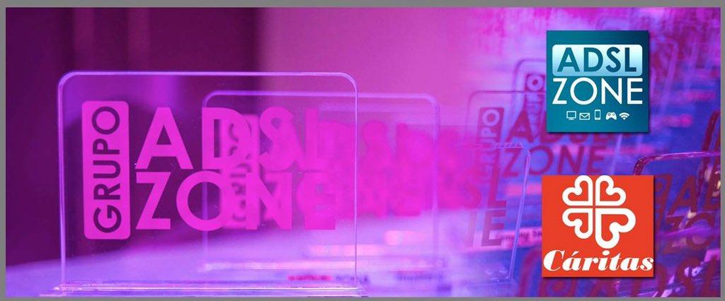 Los #PremiosADSLZone más solidarios. Donaremos 1€ a @_CARITAS por cada RT a este mensaje https://t.co/SmzwjLM4rp https://t.co/DcUCqaY98U