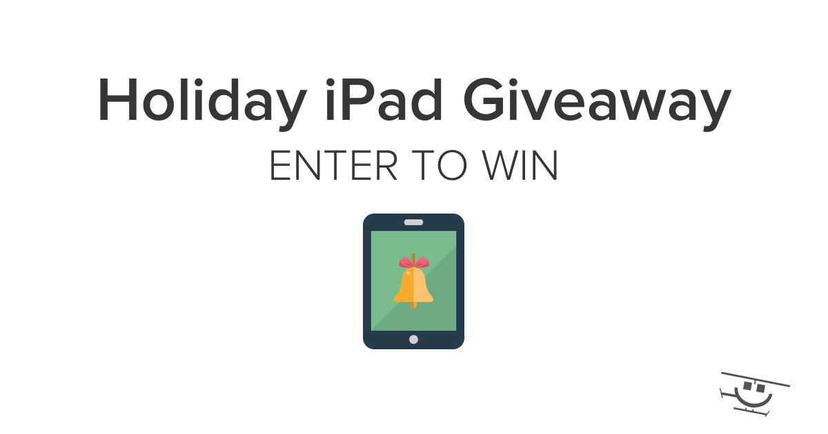Enter for a chance to win an Apple iPad Air in our Holiday #giveaway (ARV $399): https://t.co/nr4T37n3Hf https://t.co/o0gd1H2trF