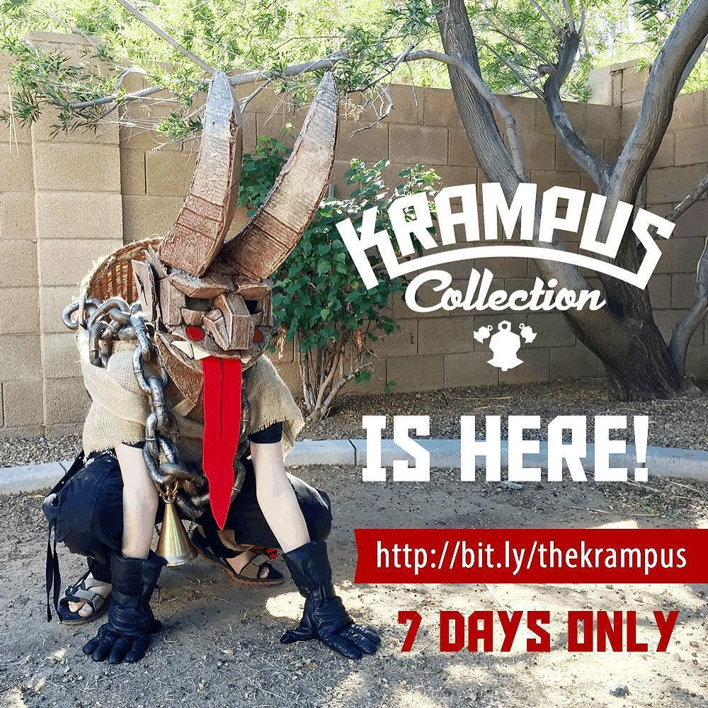 Our Krampus Collection is LIVE! Pledge now, this is a SHORT Kickstarter! … https://t.co/y5I3ZWG10F https://t.co/vqPj3v5IQr