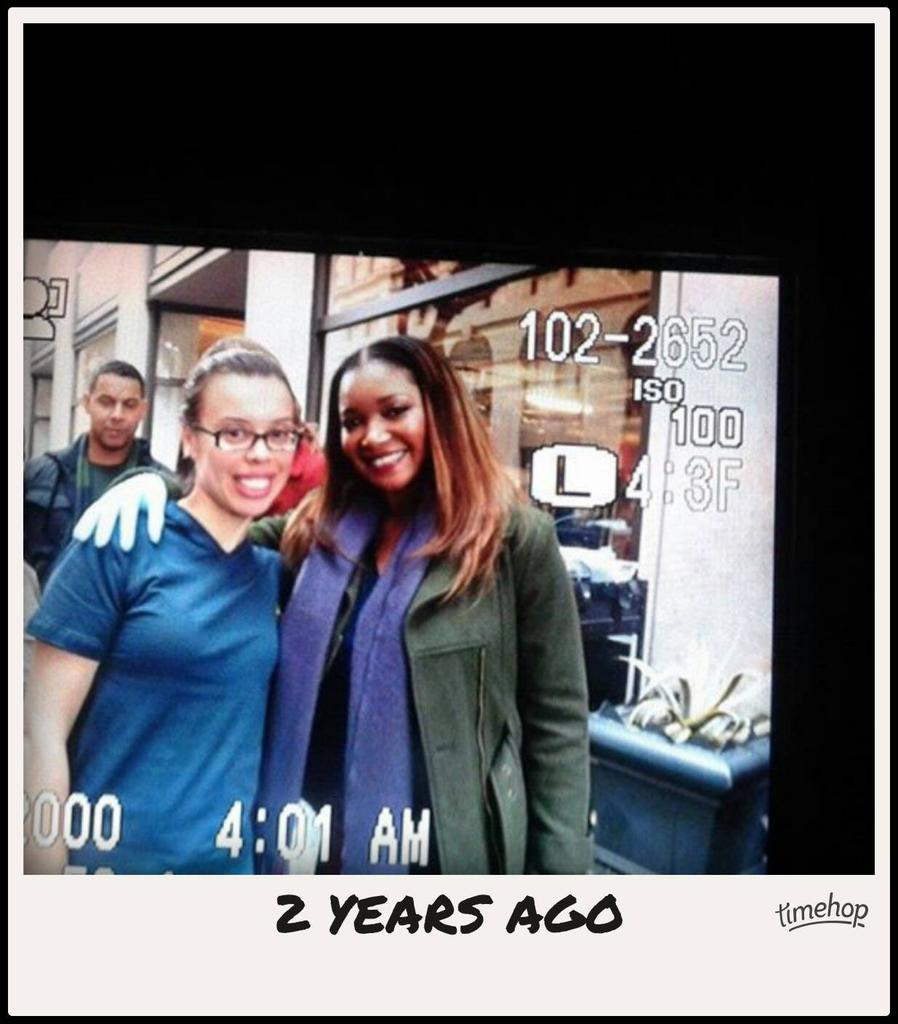 Exactly 2 years ago today! Thank you @tamalajones for this day. ❤❤ https://t.co/3EhFC1lAFw