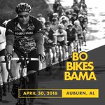 RT @BoJackson: Excited to announce that the 5th Annual @BoBikesBama will take place in Auburn, AL on April 30, 2016. Who's riding?! https:/…