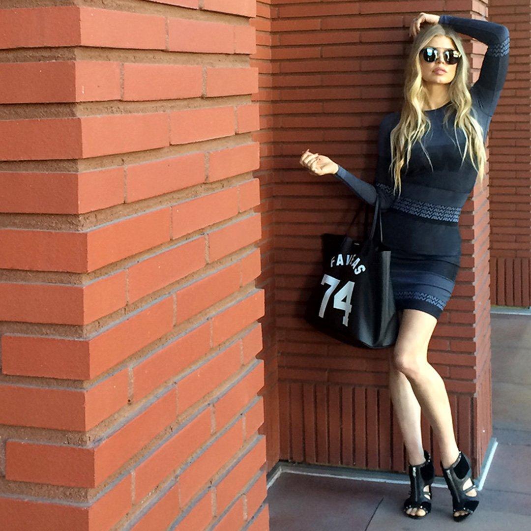 RT @FergieFootwear: #tbt 2014: @Fergie in #ALEXANDERWANGxHM dress & DECOY #booties at #ABCTVEvent. #AMAS #LALOVE https://t.co/EGTpkBLnA8 ht…