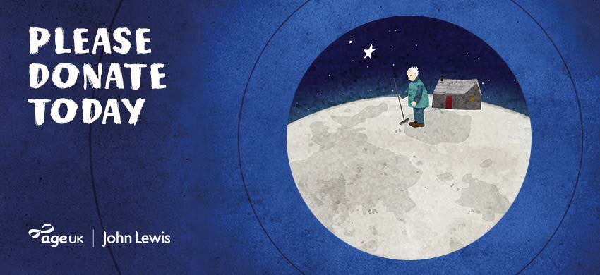 Delighted to work with @johnlewisretail to help lonely older people #NoOne #ManOnTheMoon https://t.co/EVWFywipPR https://t.co/Gyx9SIK2QN