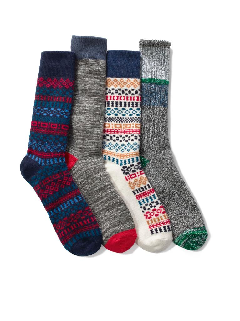Buy a pair of socks from our Holiday collection, and we'll donate a pair to someone in need. #SocksForAll. #GapLove https://t.co/AdSNm4VAO5