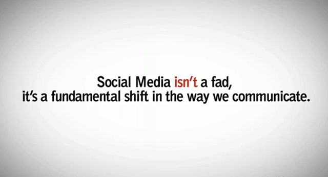 Social Media isn't a fad – it's a fundamental shift in the way we communicate #ISCPConf15 https://t.co/TgskvL7NMK