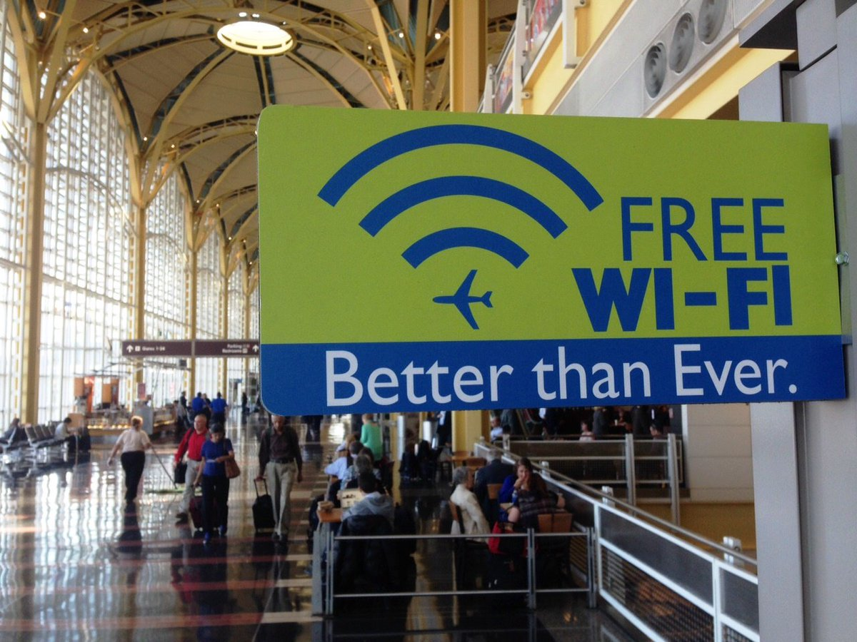 Road warriors, rejoice! Free and faster wifi