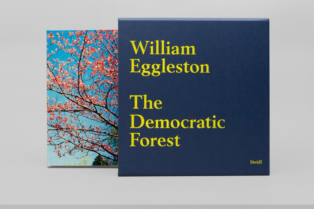 "The wait is over!  ""The Democratic Forest"" by William Eggleston is out. For more info: https://t.co/xyBdNudXuL https://t.co/3ryHZuDR5H"