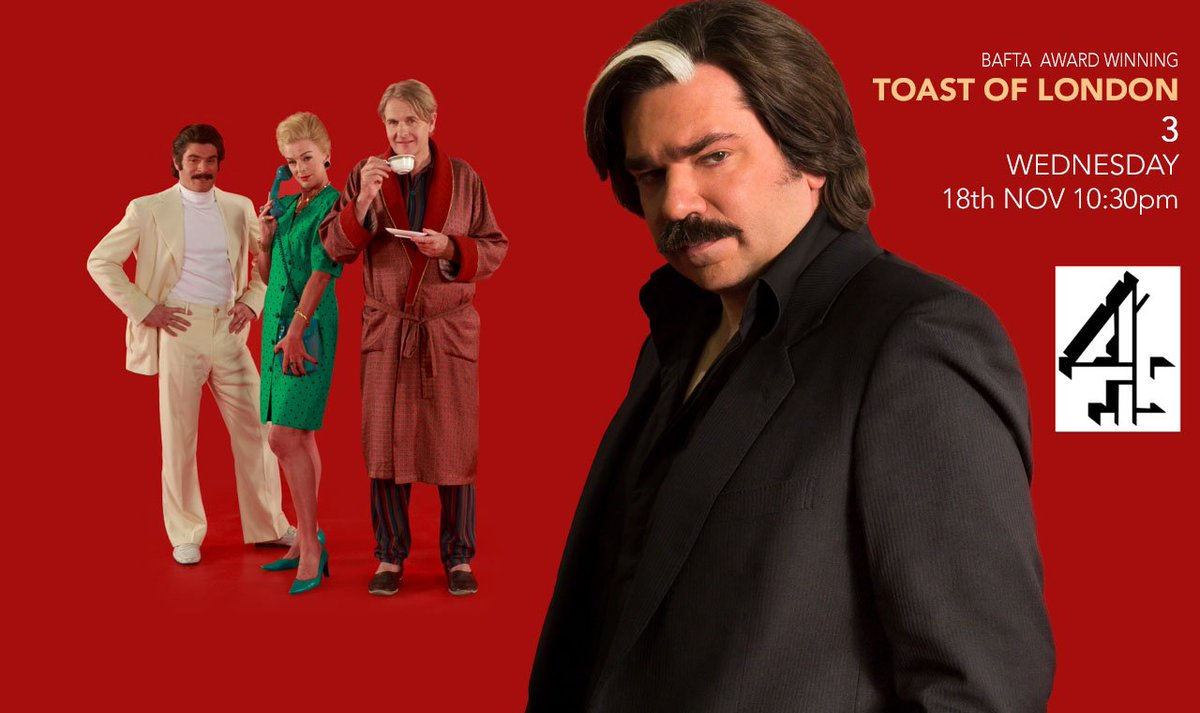 WATCH IT! #ToastOfLondon https://t.co/dBVxIbLyDE