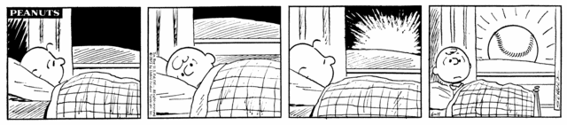 1973 was a fantastic year for Peanuts baseball strips, with 3 diff. storylines that were some of Schulz's best ever https://t.co/j52Qsbj4vx