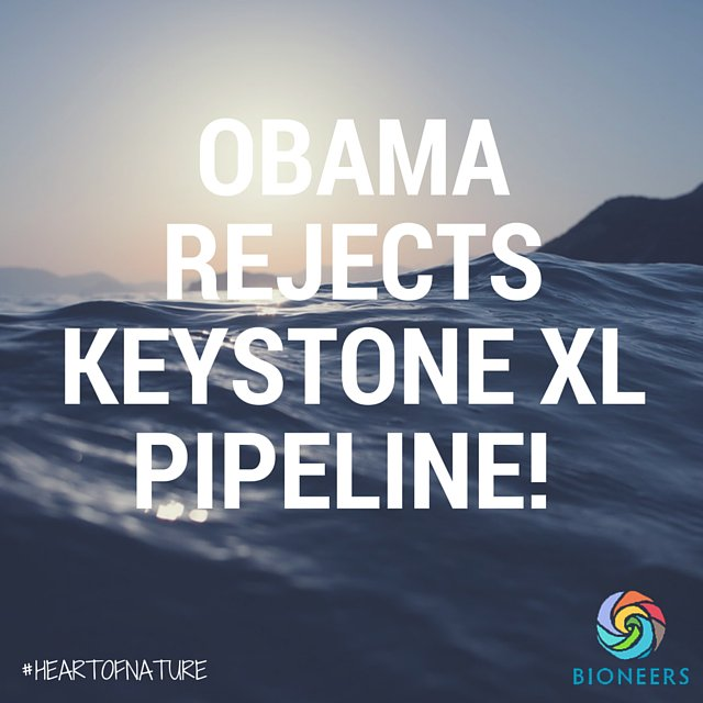 Congrats to all the activists who contributed to this victory for our water, land, air & future generations! #noKXL https://t.co/z4vDZZNqwD