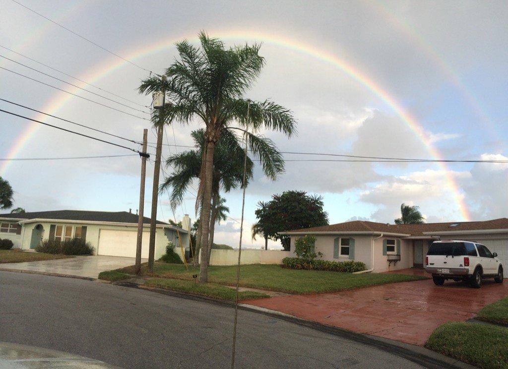 Anastasia Zarrella's rainbow over Merritt Island.  No commentary required. https://t.co/MaAujKJdHb
