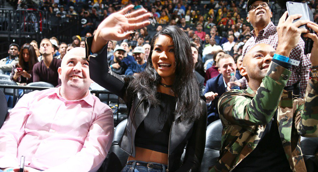 RT @barclayscenter: Happy to have @chaneliman at the @BrooklynNets game! https://t.co/Xk1fuOeRp8