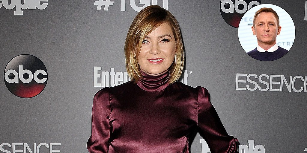 Ellen Pompeo never meant to start any beef with James Bond 😳