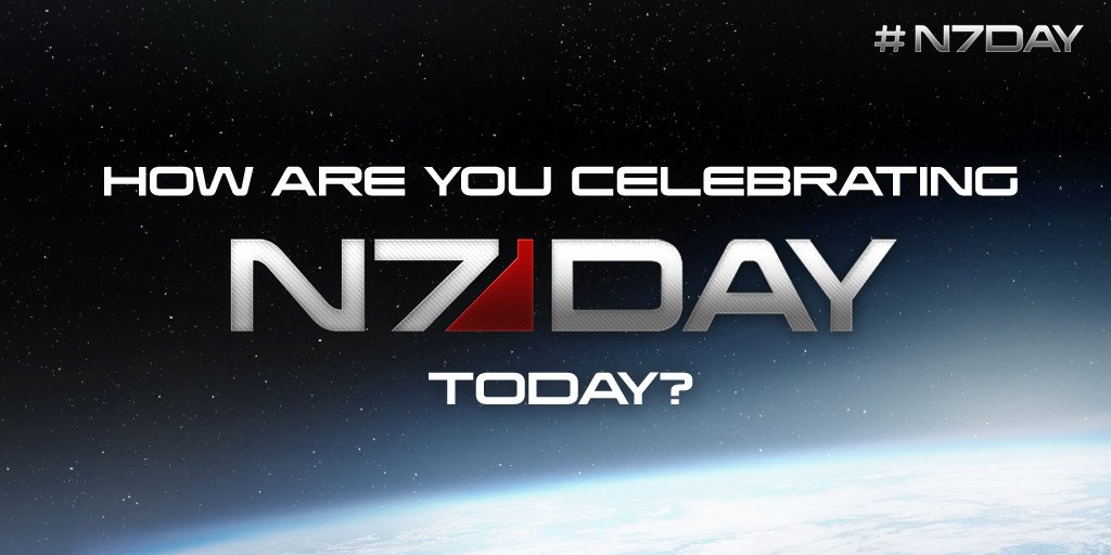 Happy #N7Day to our amazing fans around the world! https://t.co/YNjaCAzZ9k