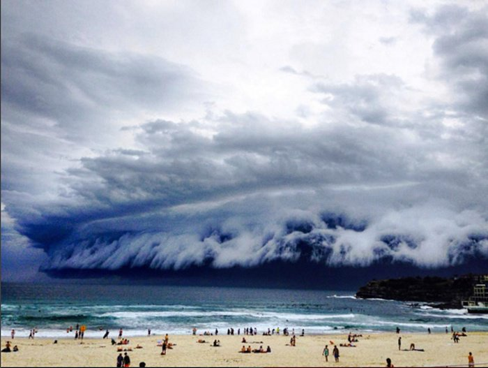 'Cloud tsunami' hits Sydney – in pictures. See the full gallery: