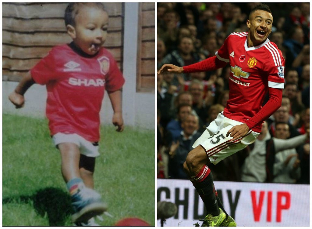 Congratulations to Jesse Lingard on scoring his first goal for ManUtd. Fulfilling a dream. https://t.co/BdsuDN0uSe