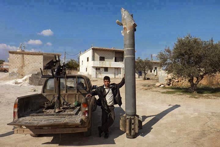 Uso de BM-30 Smerch en Siria: